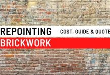 Repointing Brickwork
