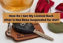 Suspended for DUI