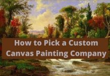 canvas painting company