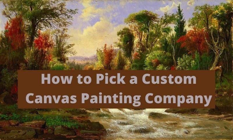 canvas painting company