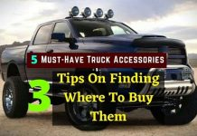 Truck Accessories &3 Tips