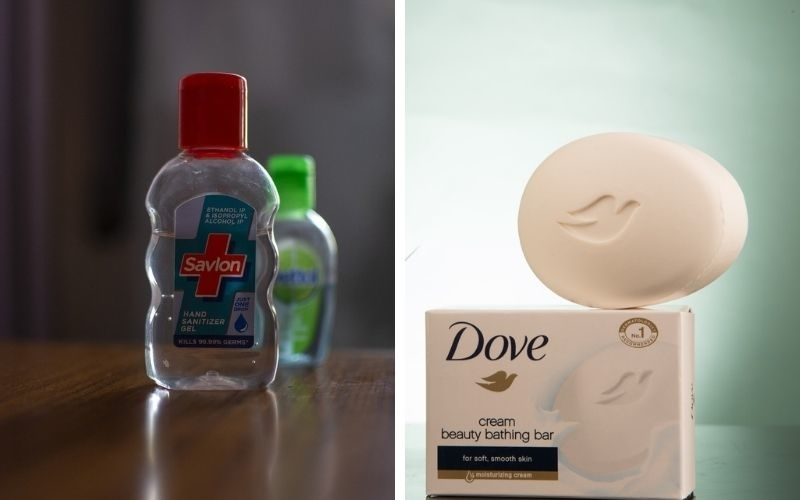 hand sanitizer and sop