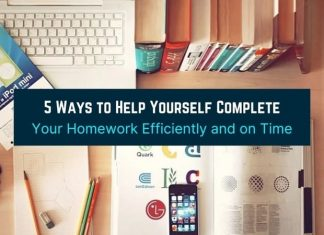 5 Ways to Help Yourself Complete Your Homework Efficiently and on Time