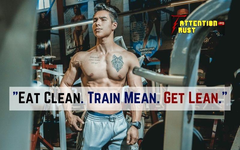 Eat Clean. Train Mean. Get Lean