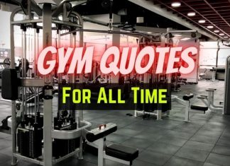 Gym Quotes For All Time