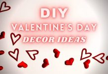 DIY Valentine's Day Decor Ideas