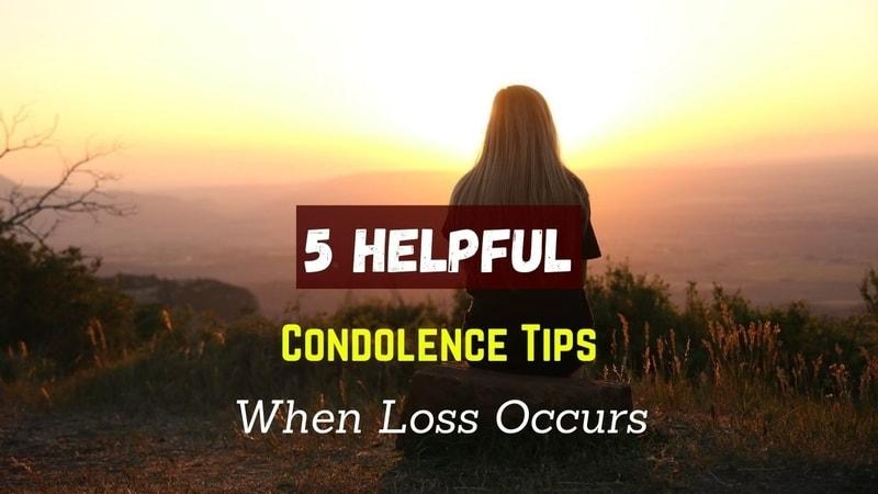 Condolence Tips